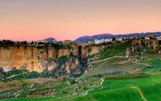 Vista panorámica de la ciudad de Ronda.