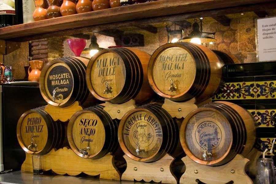 Vinos típicos de Málaga