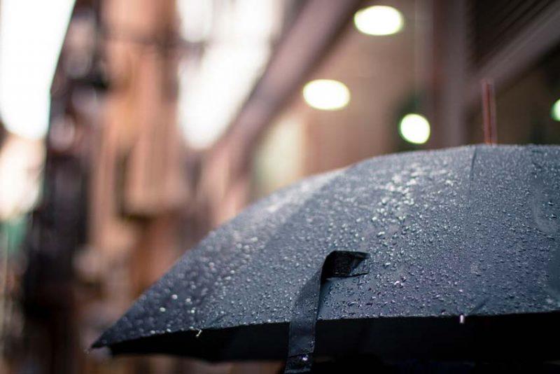 Día de lluvia en Málaga