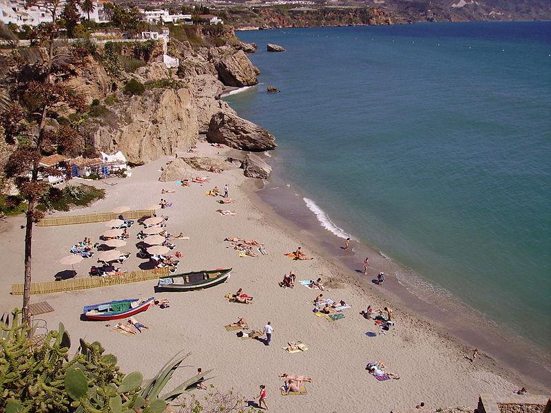 Playa la Calahonda Nerja