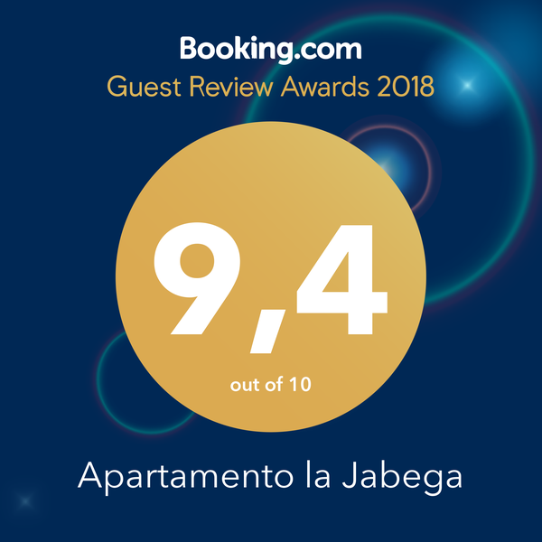Booking Award 2018 - Jabega